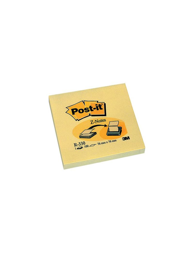 Ricariche Post-it Z-Note R330 3M - 76x76 mm - 33320 (Giallo Canary Conf. 12)
