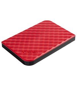 Hard Disk Portatile Esterno Store 'n' Go Verbatim - 2,5 Pollici - USB 3.0 - 1TB - 53203 (Rosso)