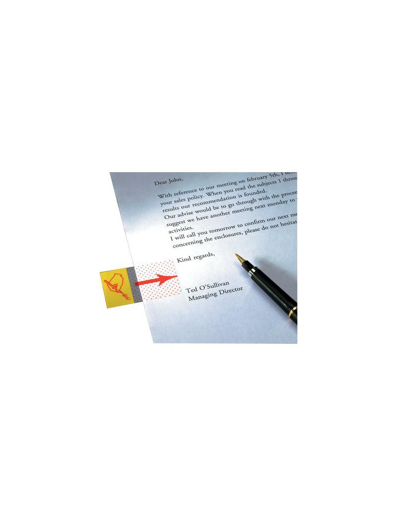Segnapagina Post-it Index 680 3M - 4655 (Firmare Qui)