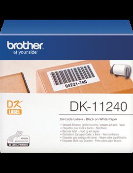 Etichette Adesive Originali Brother DK-11240 - 51x102 mm (Conf. 600)
