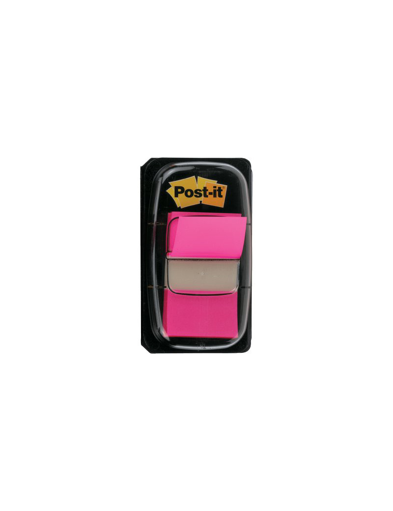 Segnapagina Post-it Index 680 3M - 4653 (Rosa Vivace)