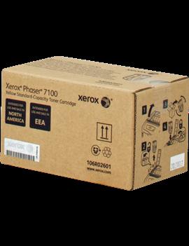Toner Originale Xerox 106R02601 (Giallo 4500 pagine)