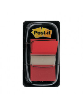 Segnapagina Post-it Index 680 3M - 7370 (Rosso)