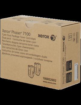 Toner Originale Xerox 106R02602 (Ciano 9000 pagine)
