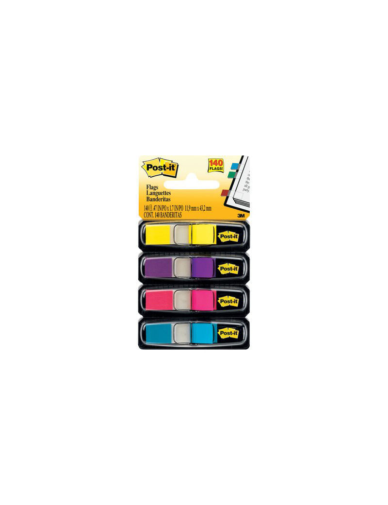 Segnapagina Post-it Index Mini 683 3M - 28625 (Assortiti)