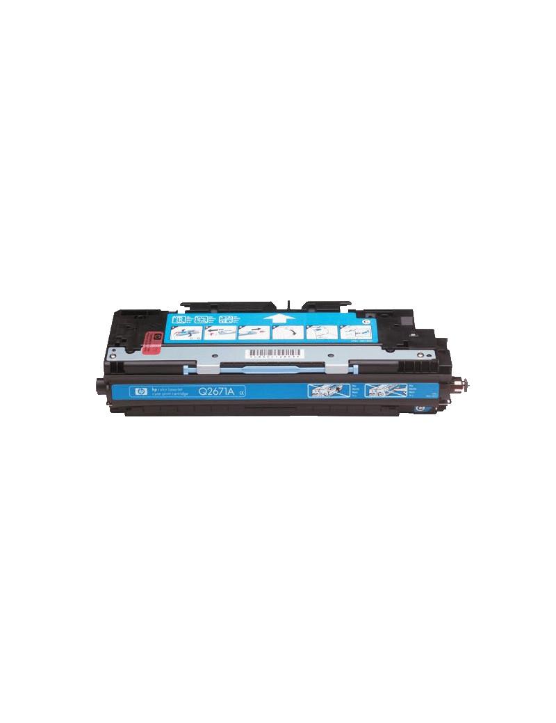 Toner Compatibile HP Q2671A 309A (Ciano 4000 pagine)
