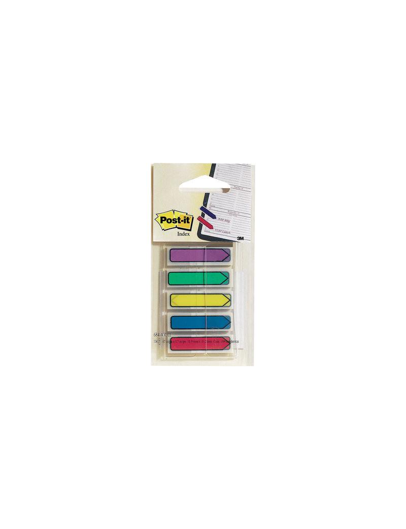 Segnapagina Post-it Index Mini Frecce per Agenda 684 3M - 90843 (Assortiti)