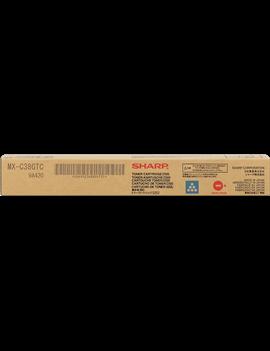 Toner Originale Sharp MX-C38GTC (Ciano 10000 pagine)