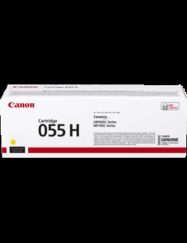 Toner Originale Canon 055hy 3017C002 (Giallo 5900 pagine)