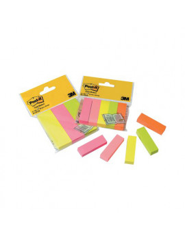 Segnapagina Post-it Notes Markers 671 3M - 25x76 mm - 36339 (Assortiti)