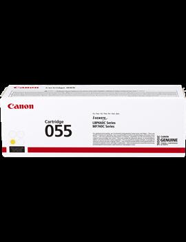 Toner Originale Canon 055y 3013C002 (Giallo 2100 pagine)