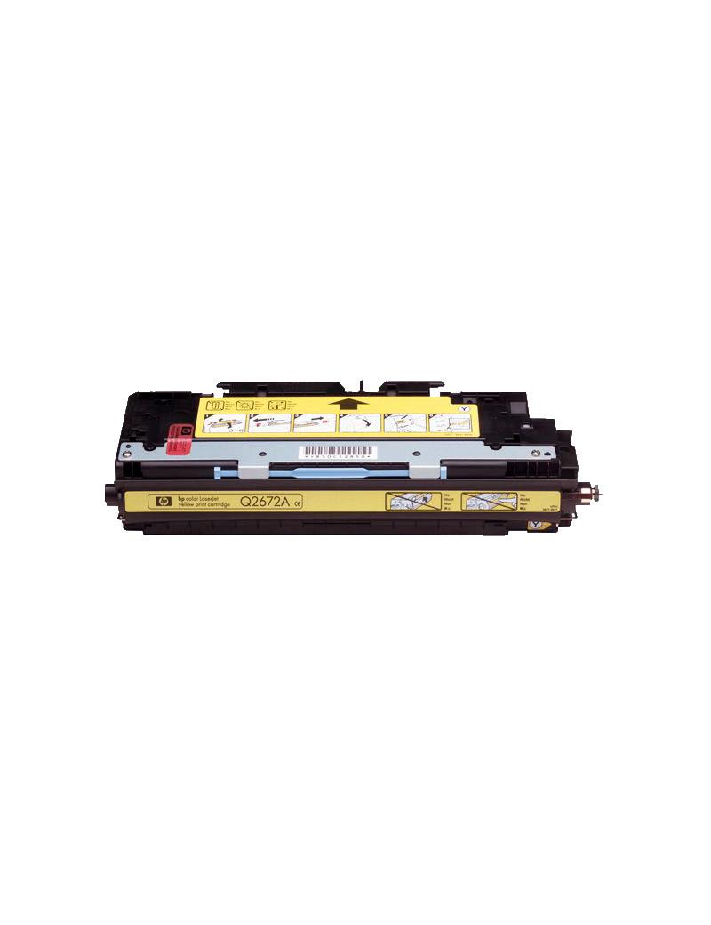 Toner Compatibile HP Q2672A 309A (Giallo 4000 pagine)