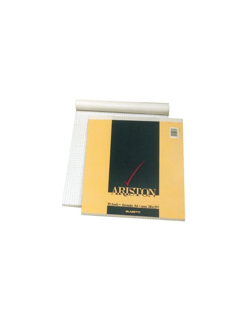 Blocco Punto Metallico Ariston Blasetti - A4 - 5 mm - 70 Fogli - 1069 (Conf. 10)