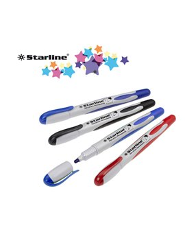 Marcatore Permanente Starline - Punta Tonda - 2 mm (Blu Conf. 12)
