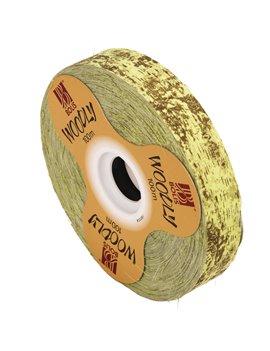 Nastro Bifacciale per Regali Woodly Bolis - 24 mm x 100 m - 51282421023 (Corteccia Verde Chiaro)
