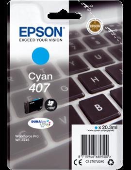 Cartuccia Originale Epson T07U240 407 (Ciano 1900 pagine)