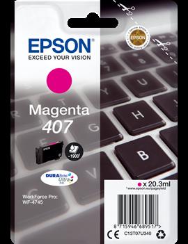 Cartuccia Originale Epson T07U340 407 (Magenta 1900 pagine)