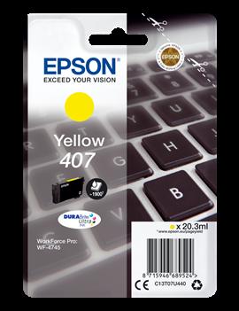 Cartuccia Originale Epson T07U440 407 (Giallo 1900 pagine)