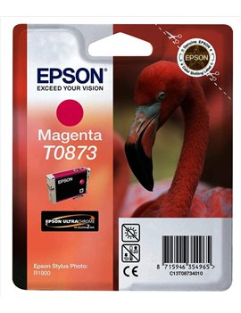 Cartuccia Originale Epson T087340 (Magenta 11,4 ml)