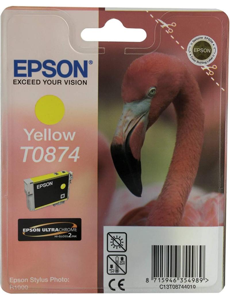 Cartuccia Originale Epson T087440 (Giallo 11,4 ml)