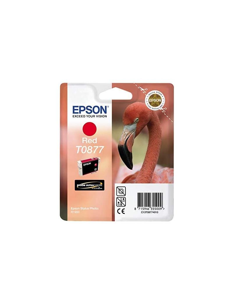 Cartuccia Originale Epson T087740 (Rosso 11,4 ml)