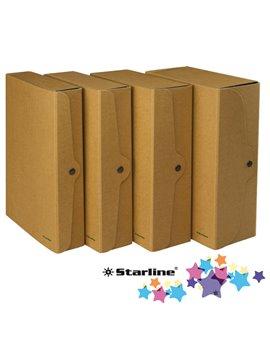 Cartella Portaprogetti con Bottone Starline - Dorso 6 - 25x35 cm - FMCXCPECO06AV (Avana Conf. 5)