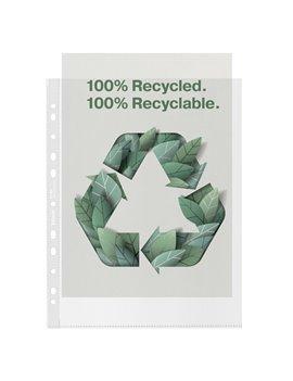Busta a Perforazione Universale Copy Safe Esselte - Riciclata - 22x30 cm - 627504 (Trasparente Conf. 50)