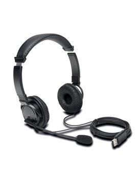 Cuffie con Microfono Kensington - K97601WW (Nero)