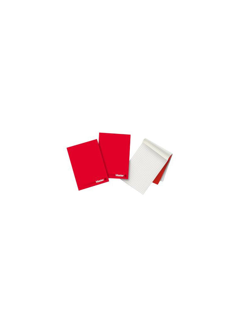 Blocco Collato Master Pigna - A4 - Bianco - 90 Fogli - 0208521BI (Rosso Conf.5)