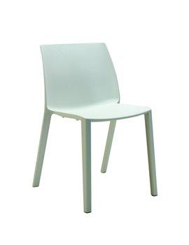 Sedia da Attesa Dory S Unisit - Plastica - DOS Bianco (Bianco)