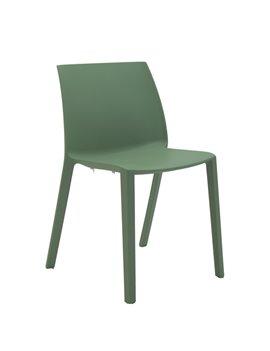 Sedia da Attesa Dory S Unisit - Plastica - DOS Verde (Verde)