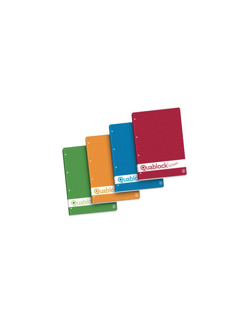 Blocco Collato Quablock Pigna - A4 - 4 mm - 00609774M (Conf. 5)