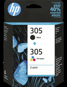 Multipack Cartucce Originali HP 6ZD17AE 305 (Nero e Colori Conf. 2)