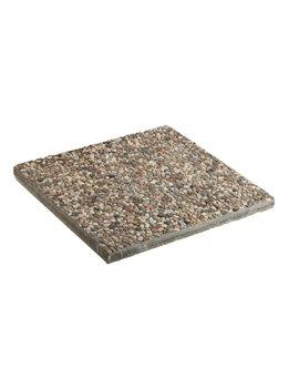 Base in Cemento per Ombrellone Quadro con Braccio Laterale Garden Friend - 50x50 cm - B1007050 (Cemento)