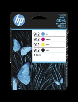 Multipack Cartucce Originali HP 6ZC74AE 912 (Nero e Colori Conf. 4)