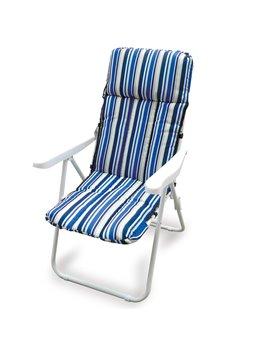 Poltroncina Relax Ischia Garden Friend - P1548102 (Bianco e Blu)