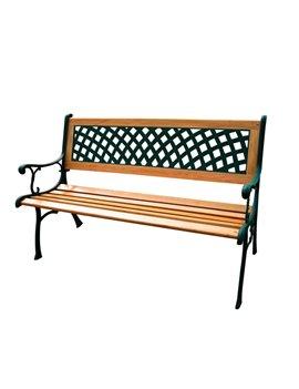 Panca da Giardino Rombo Garden Friend - Acciaio Verniciato - P1283001 (Ghisa e Legno)