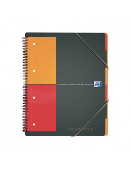 Blocco Spiralato Organiserbook Intenational Oxford - A4+ - 5 mm - 100102777 (Grigio)