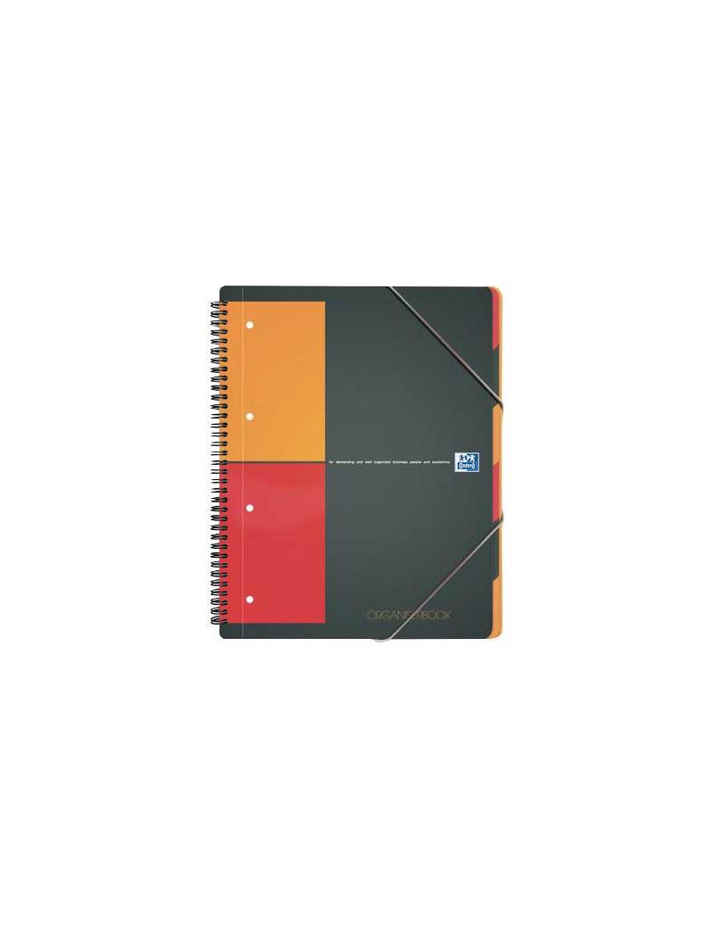 Blocco Spiralato Organiserbook Intenational Oxford - A4+ - 5 mm - 100102777 (Grigio)