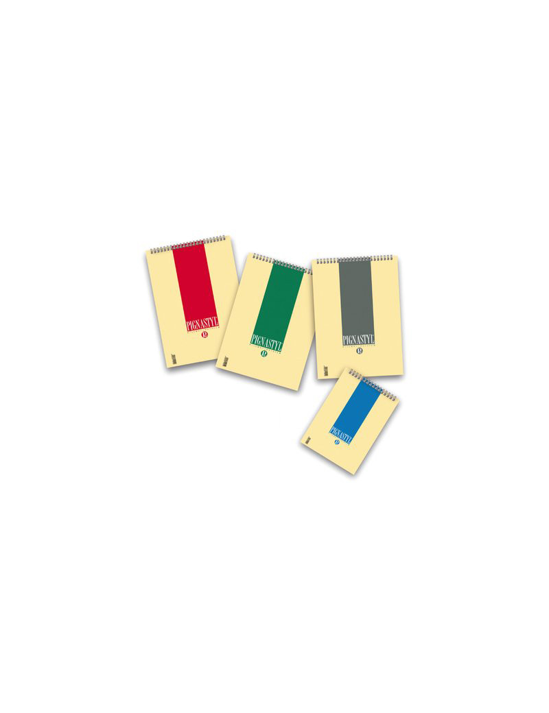 Blocco Spiralato Pignastyl Pigna - A6 - 5 mm - 60 Fogli (Conf. 10)