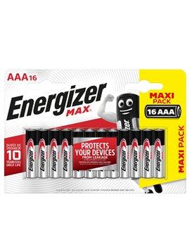 Pile Energizer Max - Ministilo AAA - E301539300 (Conf. 16)