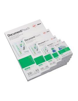 Pouches per Plastificatrici GBC - 81x119 mm - 125 micron - 3743155 (Trasparente Conf. 100)