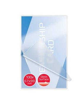 Pouches per Plastificatrici GBC - 67x99 mm - 125 micron - 3743177 (Trasparente Conf. 100)