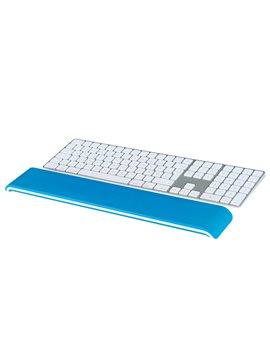 Supporto Poggiapolsi per Tastiera Ergo WoW Leitz - 65230036 (Bianco e Blu)