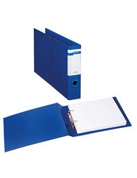 Raccoglitore Stelvio Sei Rota - A4 Orizzontale - 2 Anelli a D Ø40 mm - Dorso 6 cm - 37404307 (Blu)