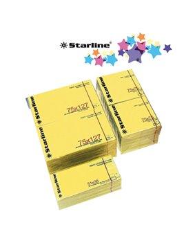 Blocchetti Riposizionabili Starline - 75x125 mm (Giallo Conf. 12)