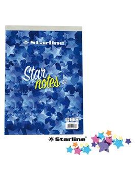 Blocco Punto Metallico Starnotes Starline - A4 - 5 mm - 60 Fogli - ODBLSTL2701A45M (Conf. 10)