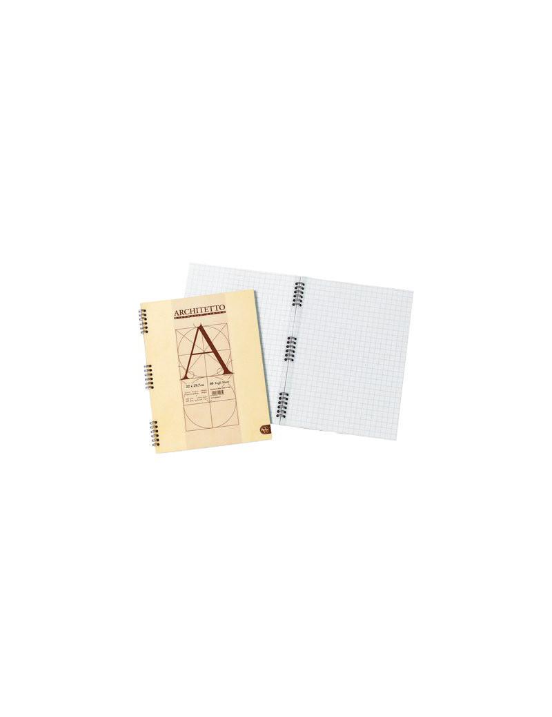 Blocco Spiralato Architetto Pigna - A4 - 40 Fogli - 0105442BI (Bianco Conf. 10)