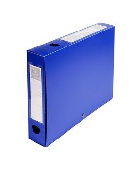 Scatola Archivio Box Exacompta - Dorso 6 - 25x33 cm - 59632E (Blu)