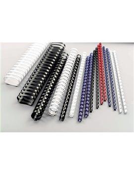 Dorsini Spiralati Plastici Ovali GBC - 51 mm - 450 Fogli - 4028187 (Nero Conf. 50)